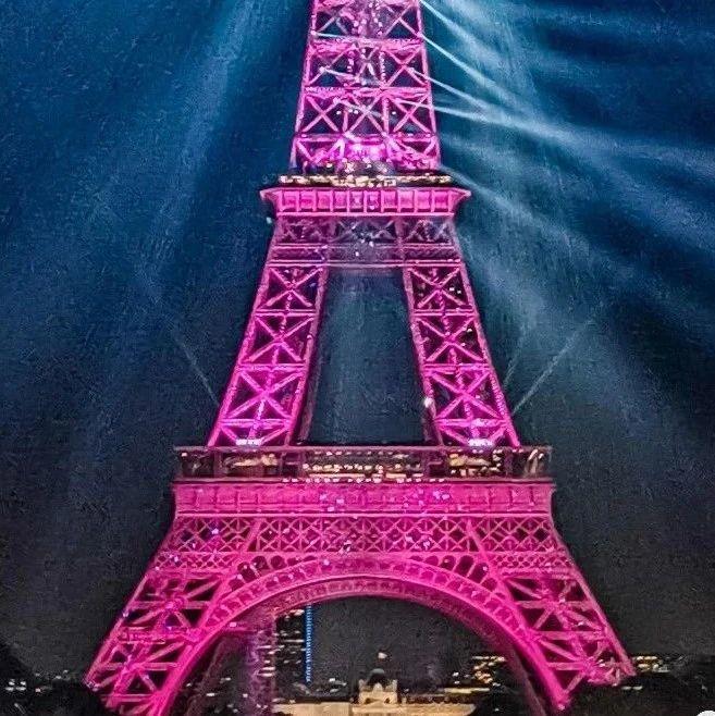 , 每年限定的粉色铁塔,12岁男孩游40km横穿海峡,其实都是为了它!, My Crazy Paris
